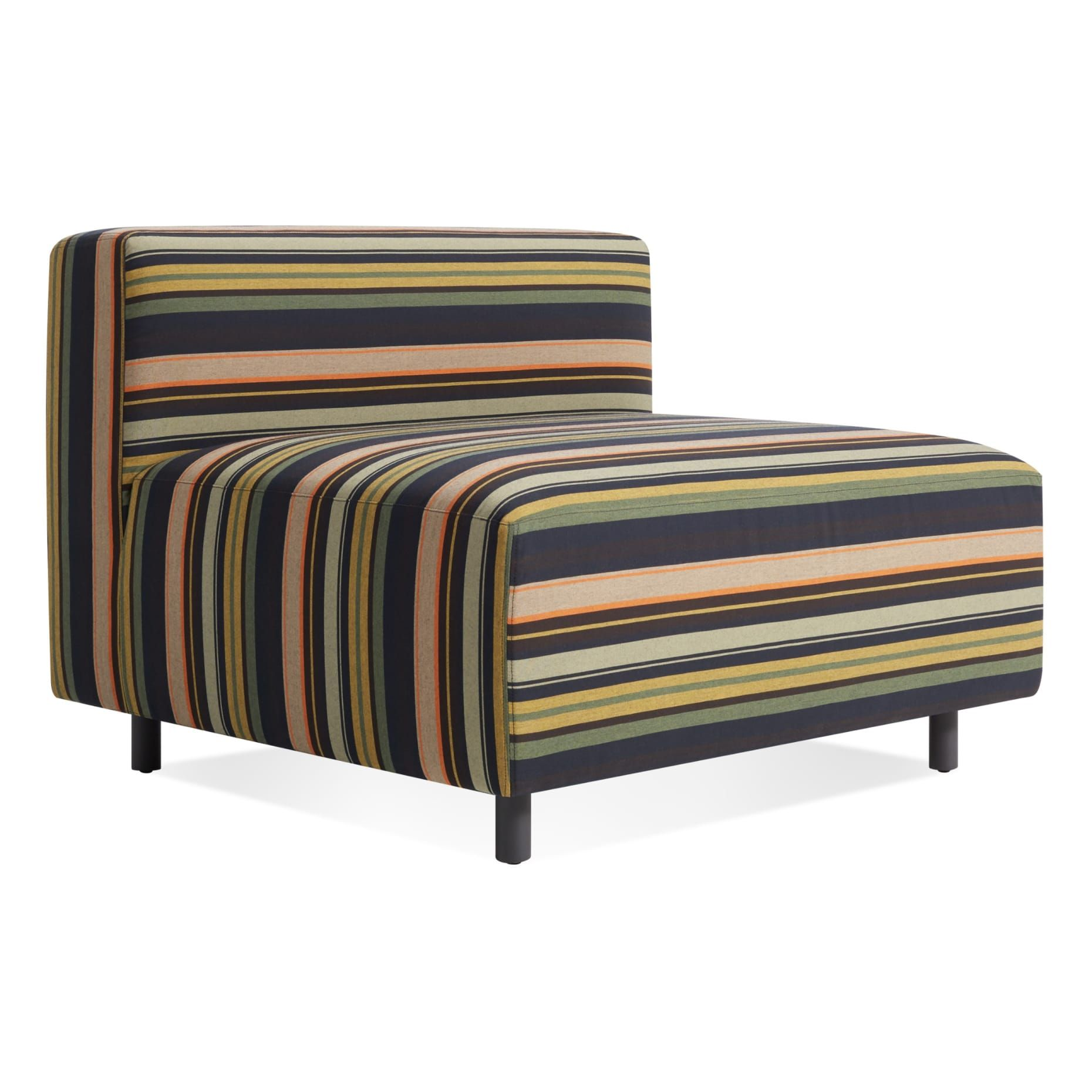 armless lounge chair outdoor