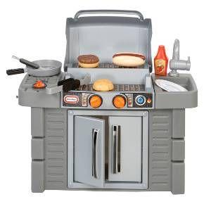Little Tikes Cook N Grow Bbq Grill Pretend Play Kitchen Kids Pretend Play Kitchen Play Kitchen