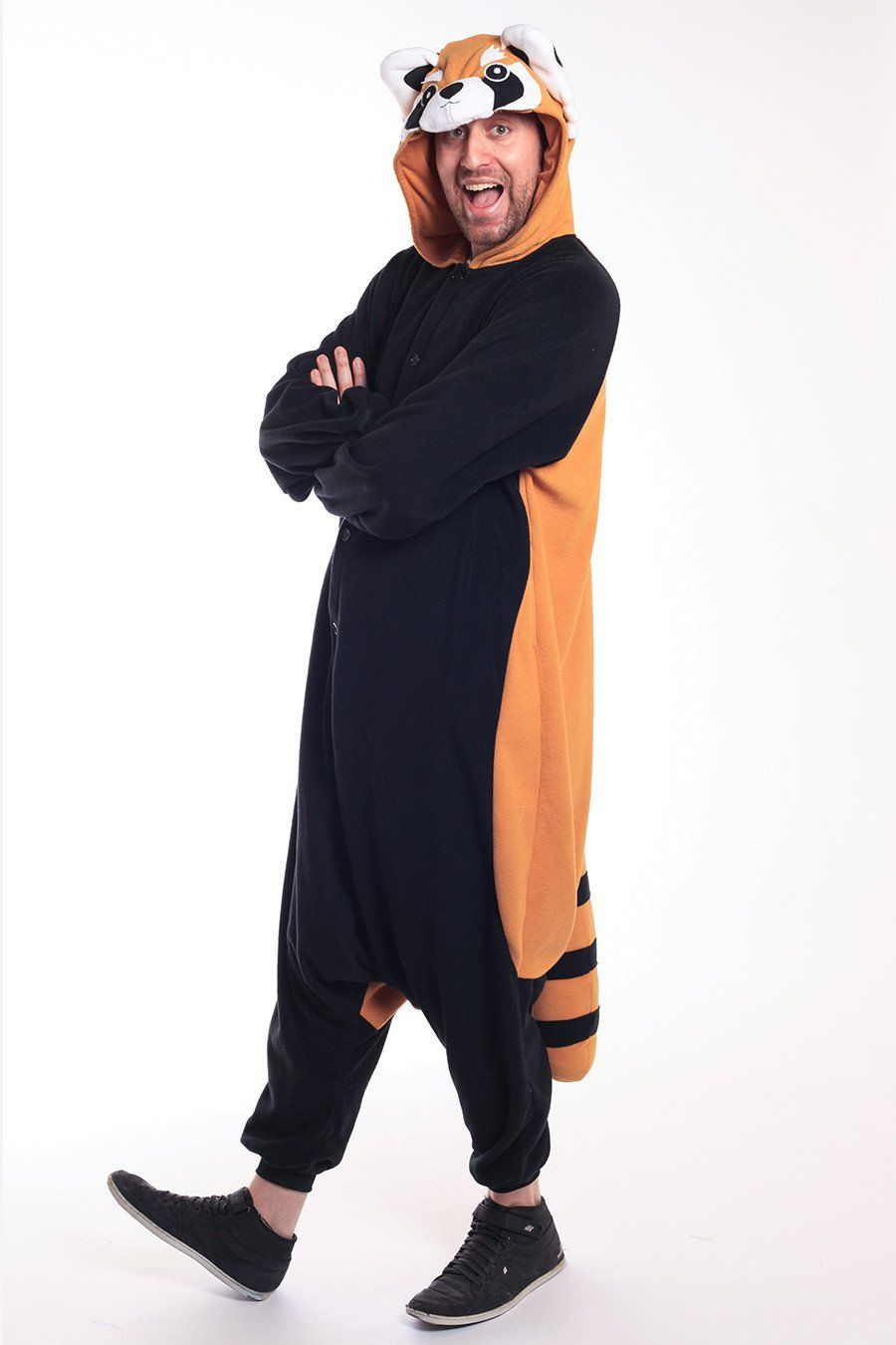 Image of: Amazon xtall Red Panda Onesie Kigurumi Animal Costume Adult Pajamas Pinterest Red Panda Kigurumis Onesies Panda Animal Costumes