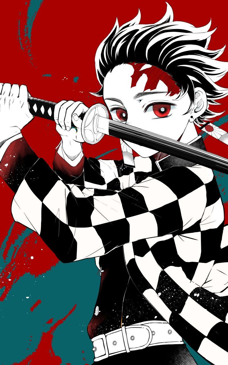 Tanjirou Demon Slayer Aka Kimetsu No Yaiba Anime Demon Anime Wallpaper Slayer Anime