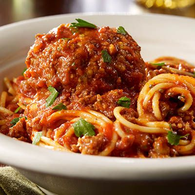 Enjoy a classic pasta at Maggiano's and get one free to take home | Food, Italian recipes, Healthy eating