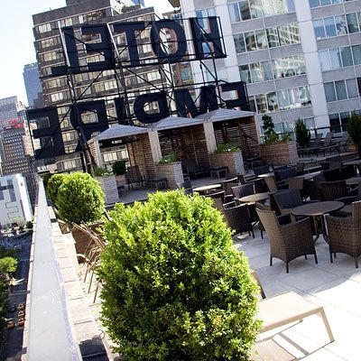 New York Hot Spots Empire Hotel Rooftop From Instyle Com Empire Hotel Hot Spot New York