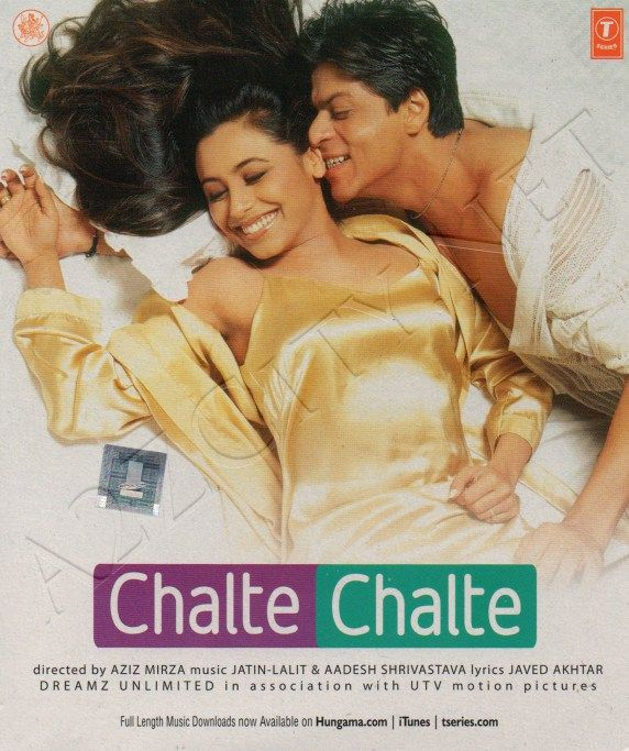 Chalte Chalte 2003 Flac Bollywood Songs Mp3 Song Download Hindi Movies