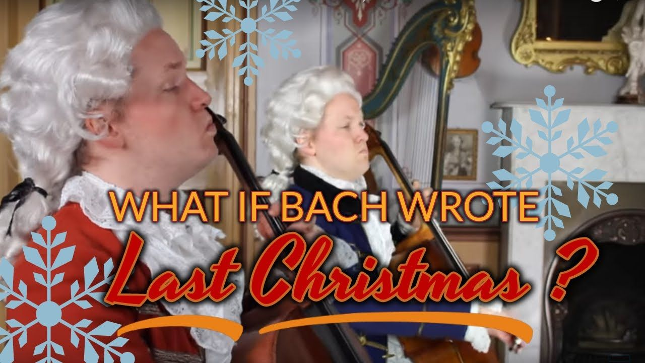 """What if Bach wrote """"Last Christmas""""? (Baroque cover"""