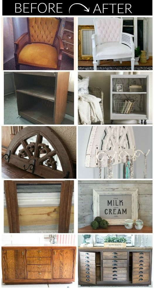 Beautiful Trash To Treasure Ideas Home Decor Part - 5: 14 Impressive Ideas For Turning Secondhand Finds Into Beautiful Home Decor.  - Littlehouseoffour.com