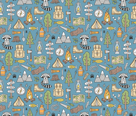 Colorful Fabrics Digitally Printed By Spoonflower Outdoors