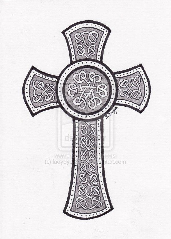 celtic cross tattoos designs celtic cross tattoo design by ladydyer2000 on deviantart. Black Bedroom Furniture Sets. Home Design Ideas
