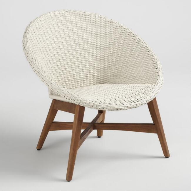 Round All Weather Wicker Vernazza Outdoor Patio Chair Set