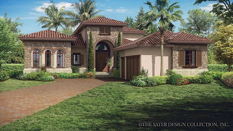 Home plan homepw77015 3648 square foot 3 bedroom 3 for Www homeplans com