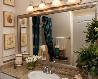 Great Idea For Plate Mirrors In Bathrooms Order Frames Mirror And Just Stick On