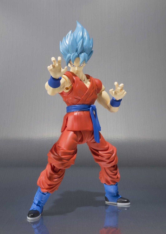 S.H.Figuarts Dragon Ball Z Red Super Saiyan God Red SS Son Goku Gokou Figure