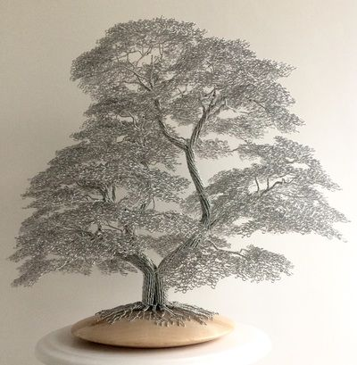 Beautiful handmade wire tree sculptures. Art for the home. | things ...