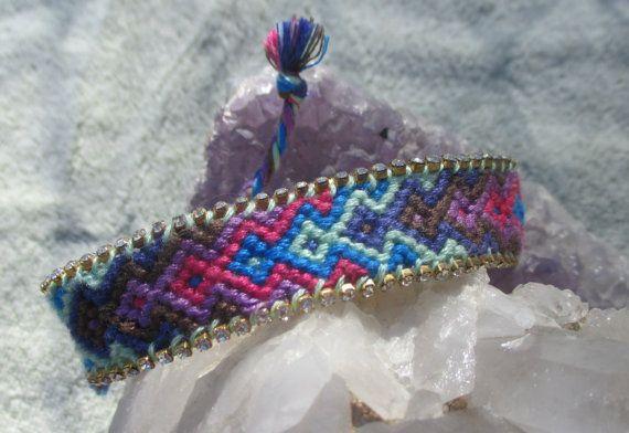 Luxury Bohemian Boho Chic friendship bracelet by BeeboANDBijou