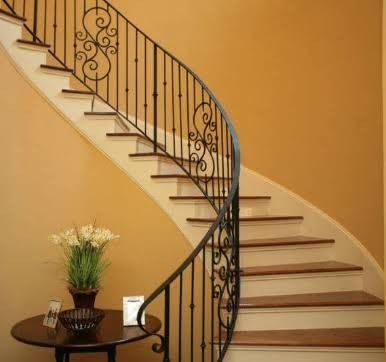 Best Pin By Vvj Vj On Grills Wrought Iron Stair Railing 400 x 300