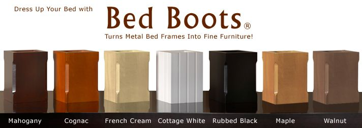 Bed Boots Bed Frame Leg Covers Or Spray Paint Cans For Wheels To
