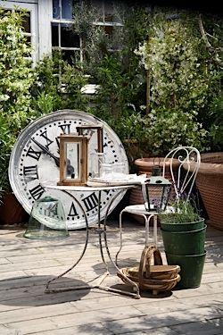 How to enhance your garden with antique pieces Gardens Garden
