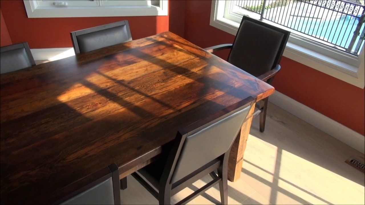 Mennonite Built Reclaimed Wood Harvest Tables. We Are An Experienced  Company That Focuses On Making