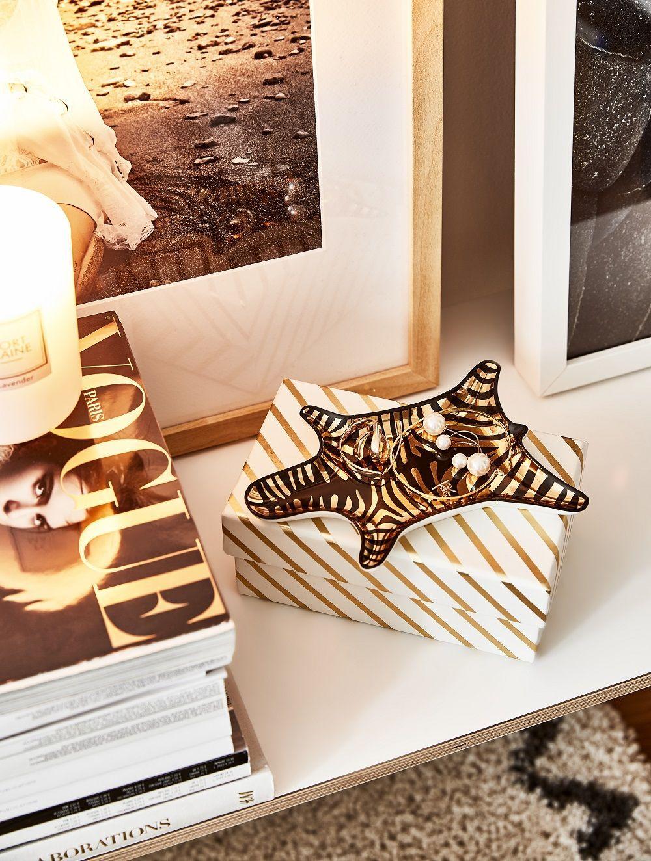 Fleur Pour Decoration Salon coupelle décorative design zebra en porcelaine | gifts
