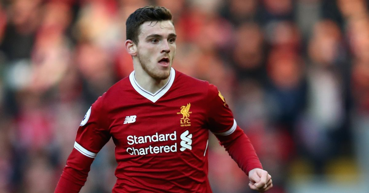 Liverpool's Andy Robertson Is Making Himself At Home In