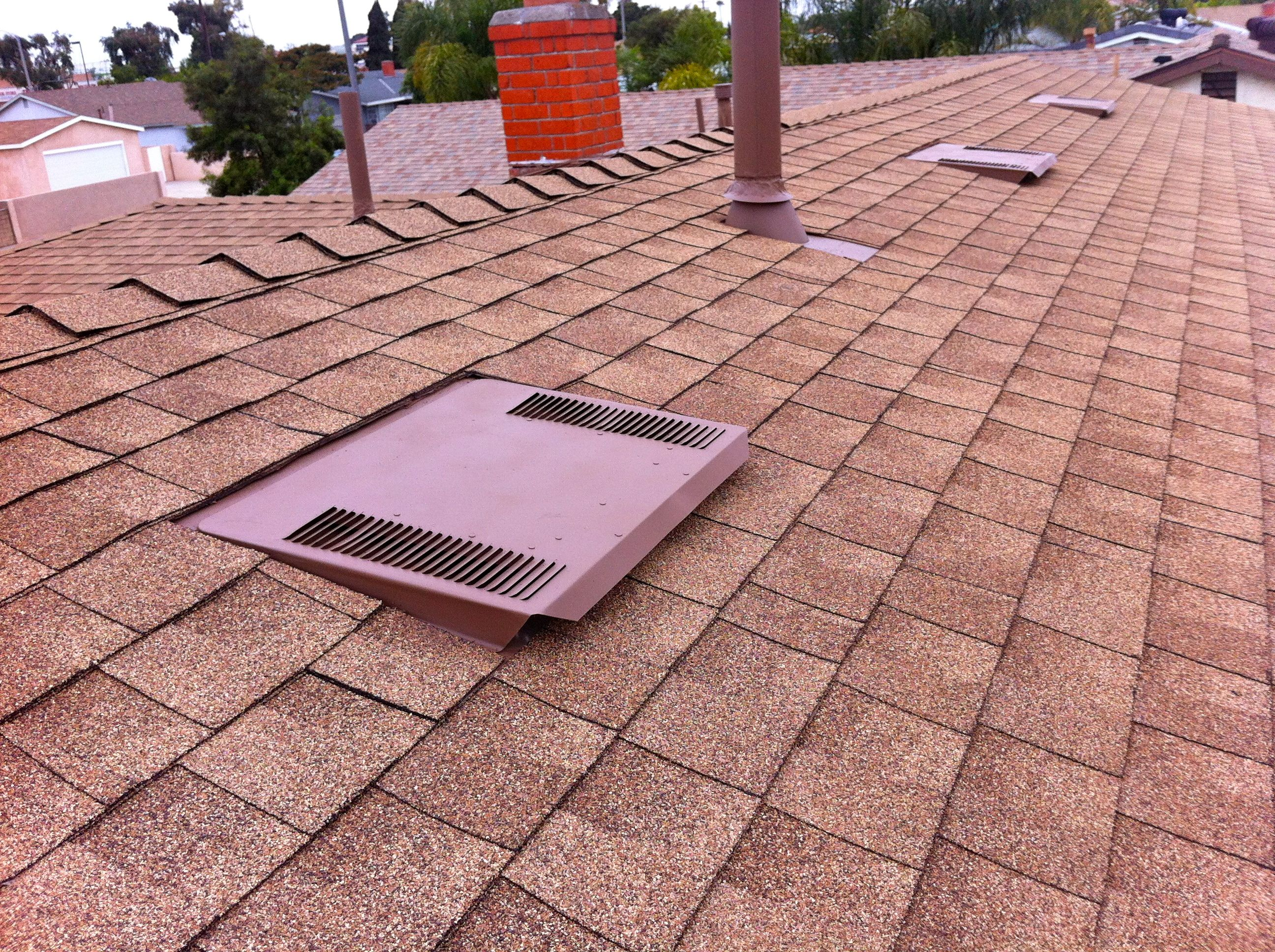 Wwwchandlersroofingcom Low Profile O Hagin Vents Installed With