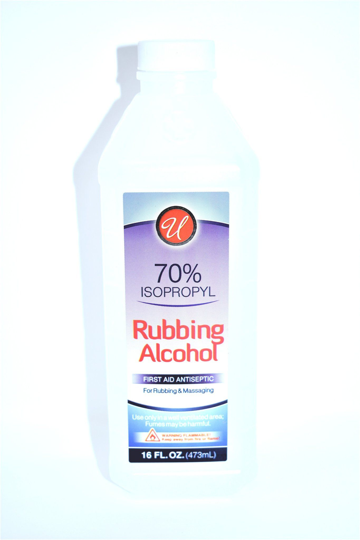Universal 70% Isopropyl Rubbing Alcohol, 16 fl oz | First