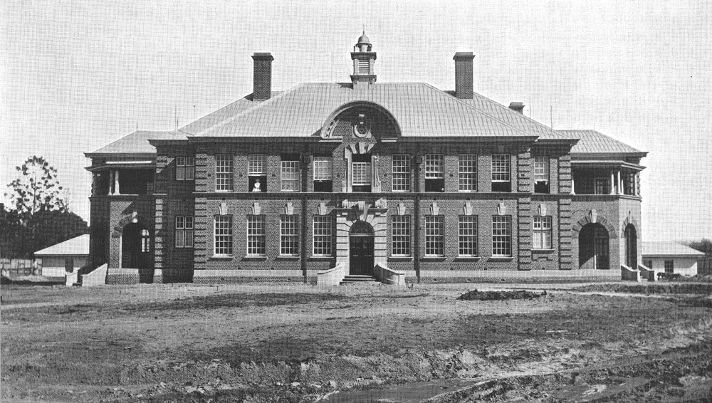 1915 Administration Building Ipswich Hospital for the