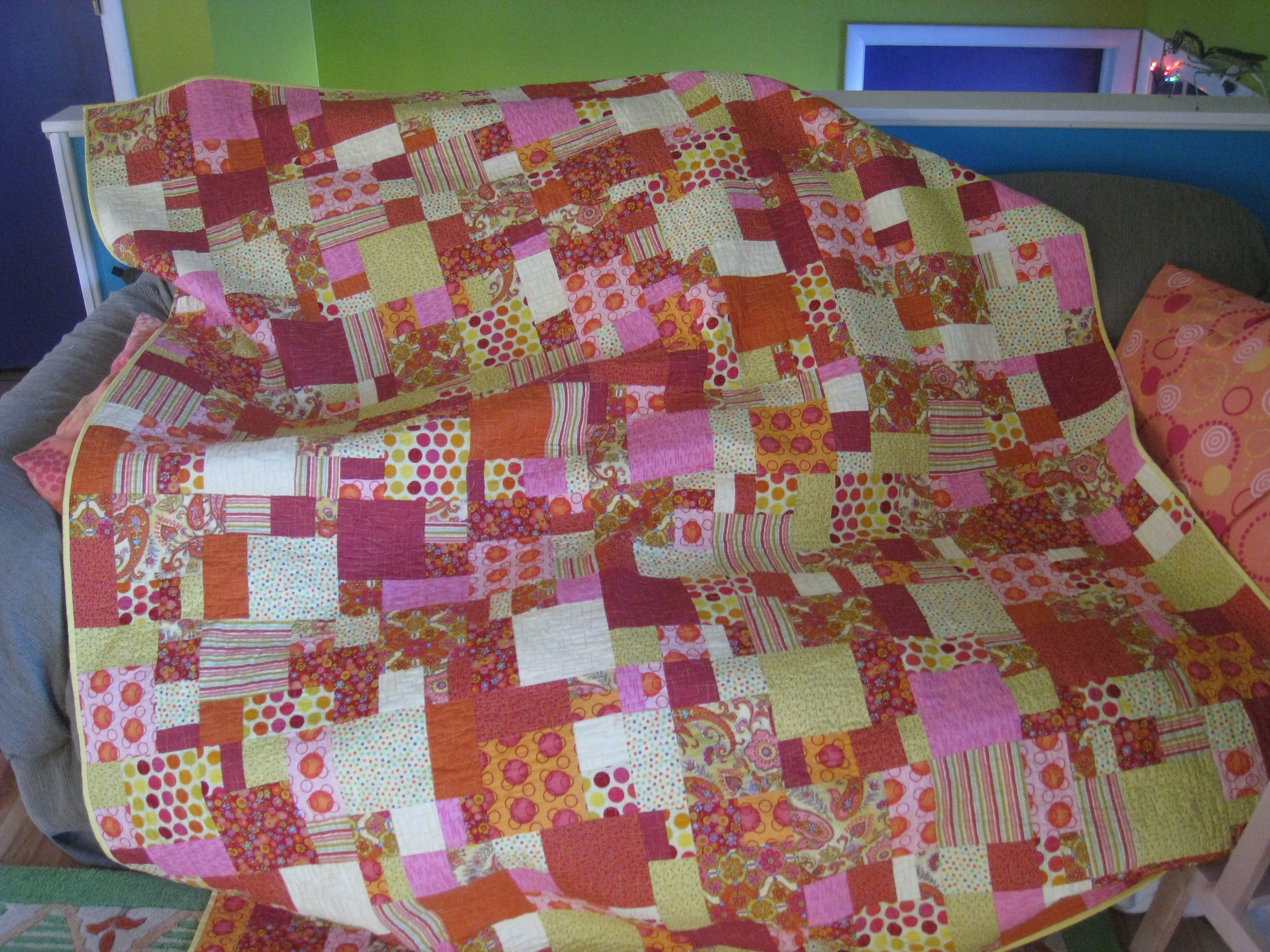 Iquilt Fabricpile Quilts Quilts Pallet Blanket