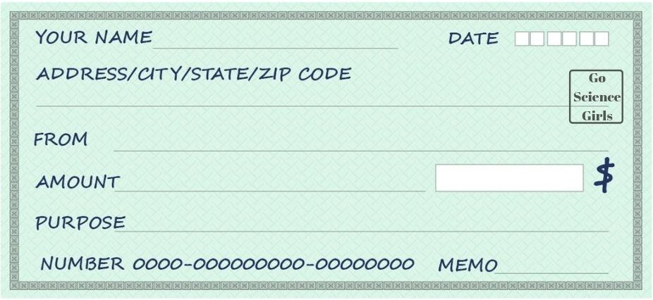 Free Blank Check Templates For Kids Activities For Kids Included