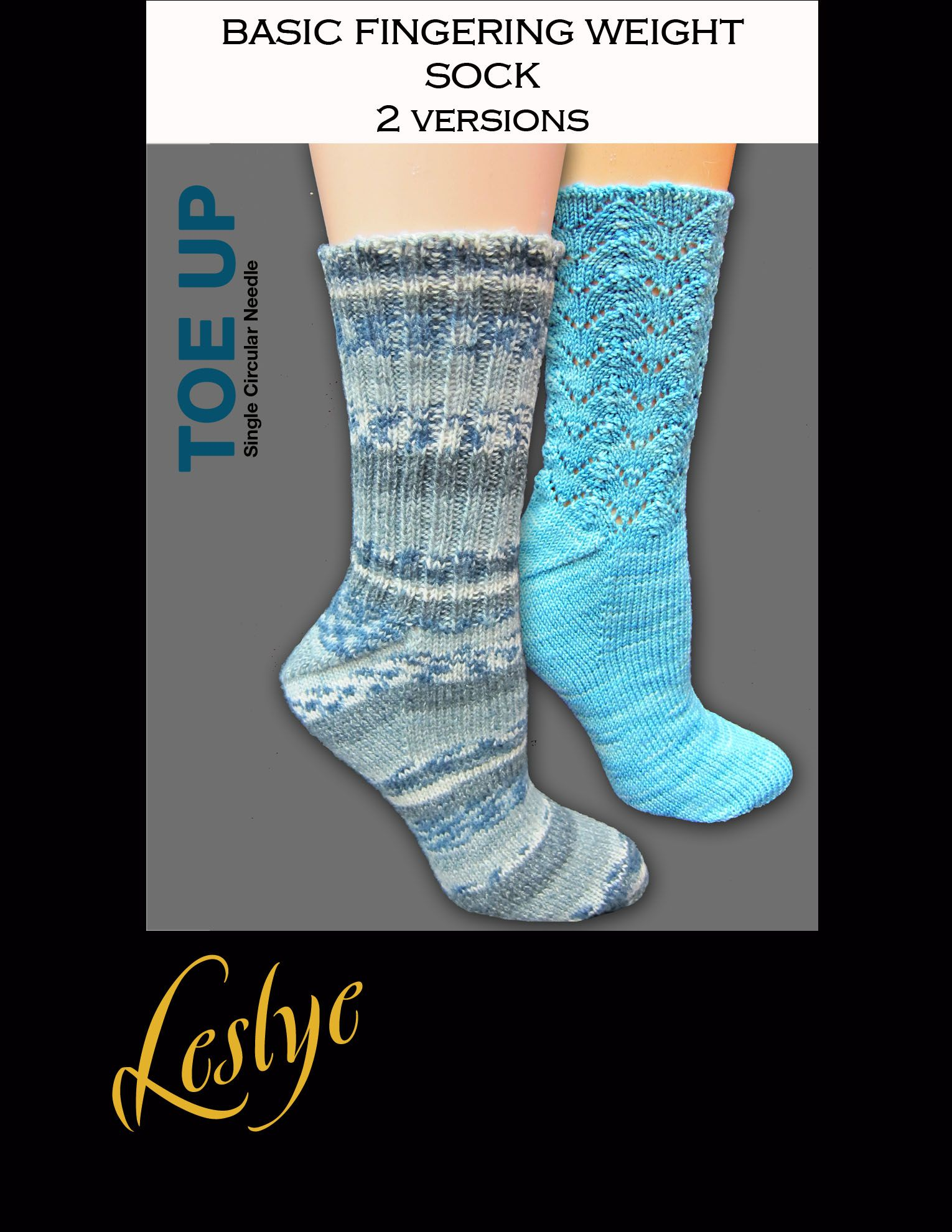 Learn to knit socks from the toe up using a single circular needle ...
