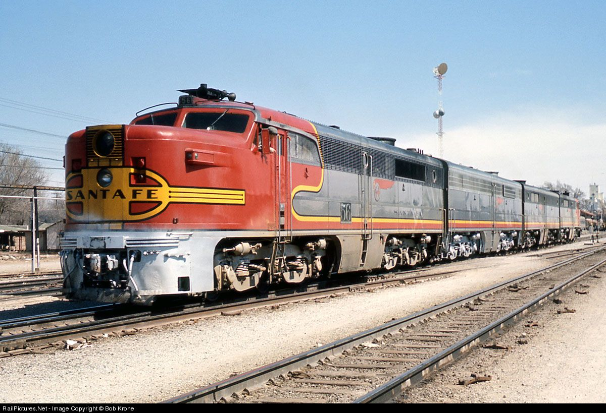 Image result for santa fe PA diesel locomotives