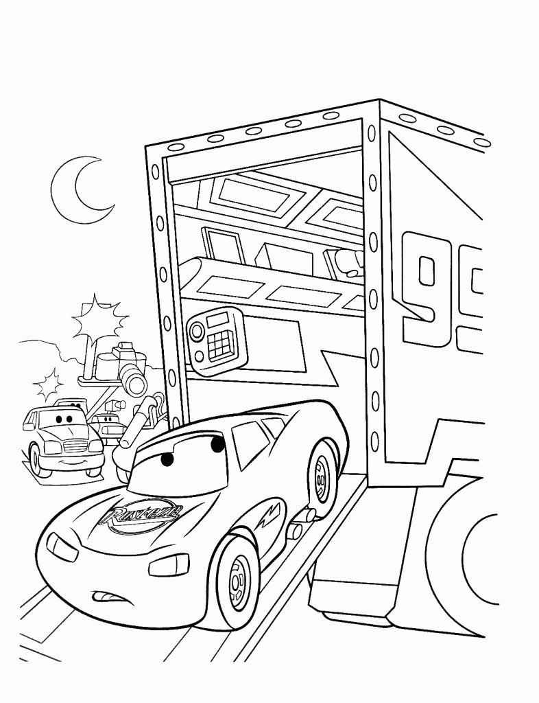 Lightning Mcqueen Coloring Page Beautiful Free Printable Lightning Mcqueen Coloring Pages For Kids In 2020 Cars Coloring Pages Free Coloring Pages Coloring Pages
