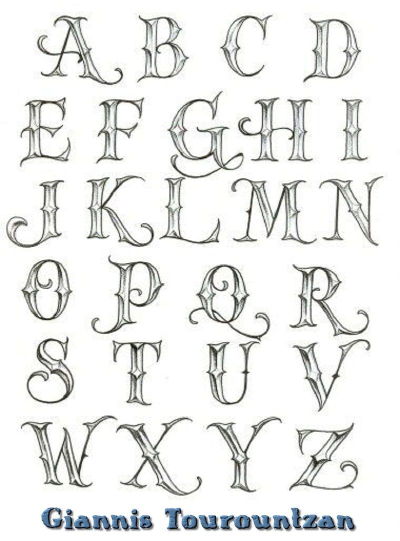 Pin By Giannis Tourountzan On Graffiti Alfabhto Graffiti Alphabet Tattoo Lettering Fonts Lettering Alphabet Graffiti Lettering Fonts