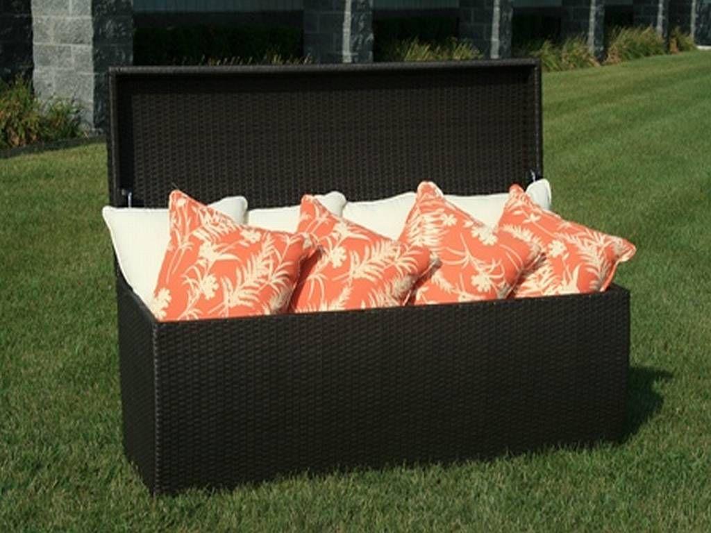 Wonderful Patio Furniture Cushion Storage Boxes