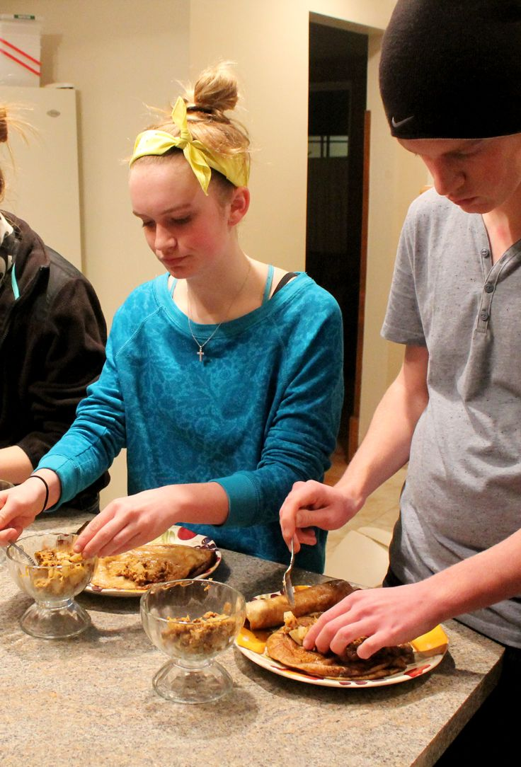 Teen cooking classes
