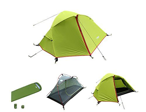 Best C&ing Tents | Luxe Tempo 33LB 1 Person Backpacking Tent with 1 FREE SLEEPING BAG Mummy Style with Free Footprint Minimalist Pitch OptionLuxe Tempo ...  sc 1 st  Pinterest & Best Camping Tents | Luxe Tempo 33LB 1 Person Backpacking Tent ...