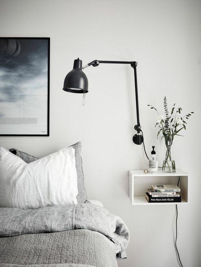 1001 + idées pour une lampe de chevet suspendue dans la