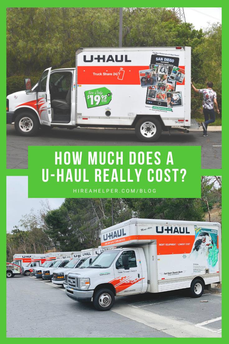 How Much Does A U Haul Really Cost We Found Out Uhaul Uhaul Truck U Haul Truck