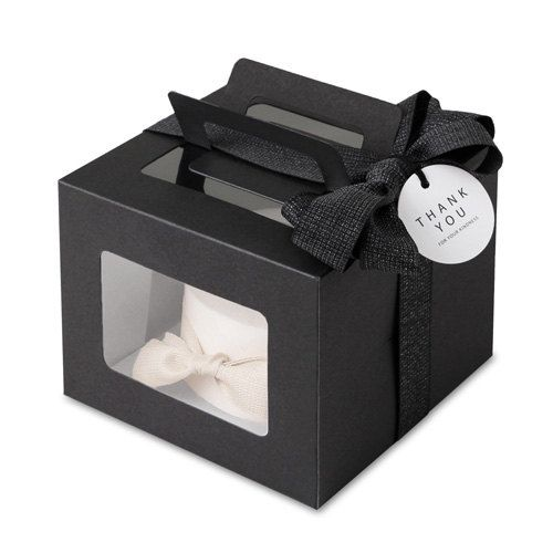 Black color mini cake boxes are perfect match for your mini cake ...