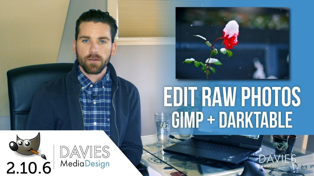 How to Edit RAW Photos in GIMP and Darktable | News | Raw photo
