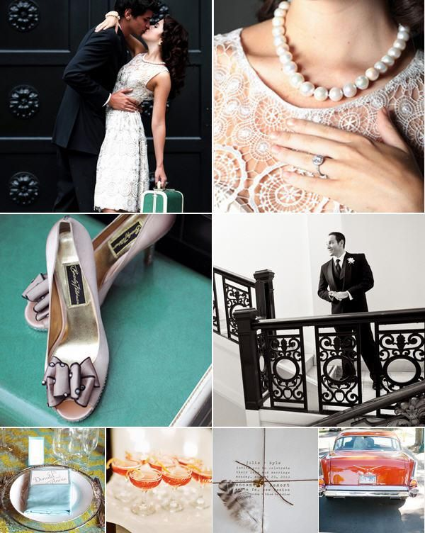 mad men engagement   Mad Men Wedding Ideas (Get The Look!)   The Knot Blog – Wedding ...