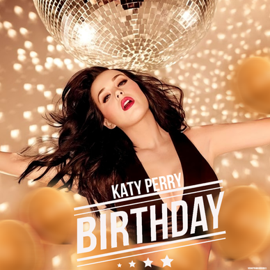 Resultado de imagem para katy perry birthday single