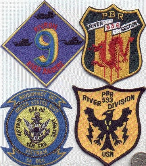 Us Navy Riverine Ship 1 Patch Pbr-534 Usn Naval Squadron Vietnam ...