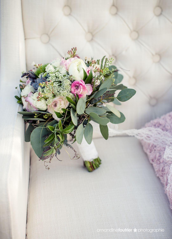 bouquet de mari e champ tre et boh me renoncules lisianthus succulent eucalyptus dille. Black Bedroom Furniture Sets. Home Design Ideas