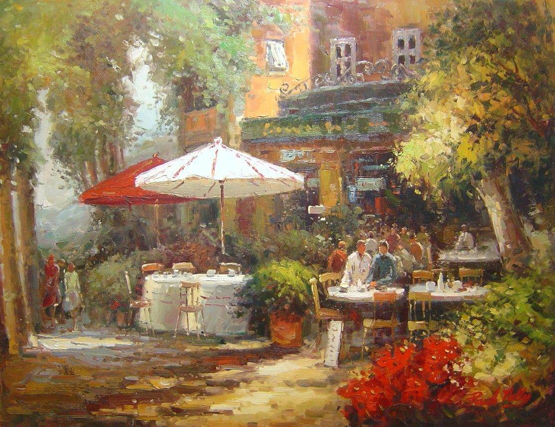 Famous cafe painting - Famous French Cafe Painting Google Image Result For Http Www Artpostgallery Com Painting Outdoor Cafefrench