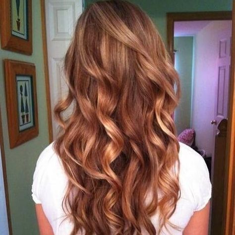 Brown Hair With Strawberry Blonde Highlights Hair In 2019 Hair