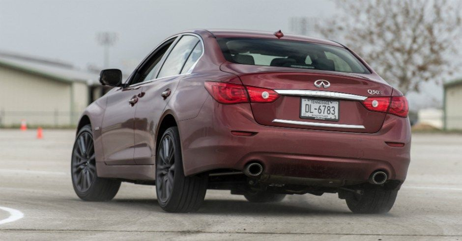 Two Luxury Sports Sedans to Consider Infiniti q50 red