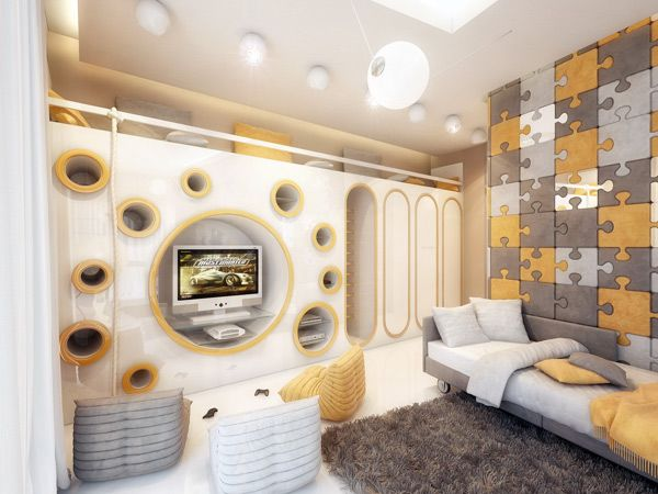 Amazing Children Room Design by Geometrix Design | Kids rooms ...