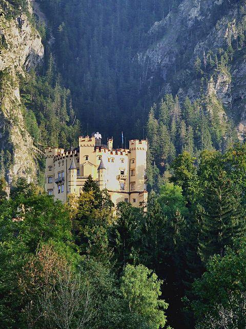 "thistroubledmindofmine: "" Hohenschangau Schloss - DE by Olivia Maria - PRT on Flickr. """