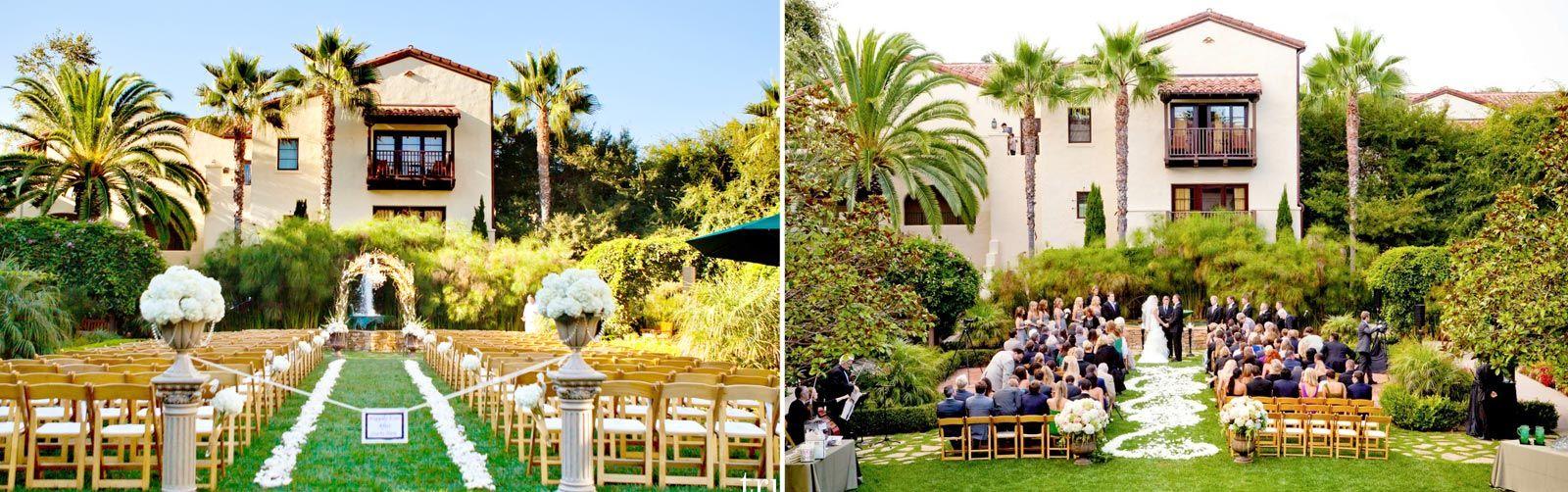 San Diego Garden Wedding Get Hitched in San Diego Pinterest La