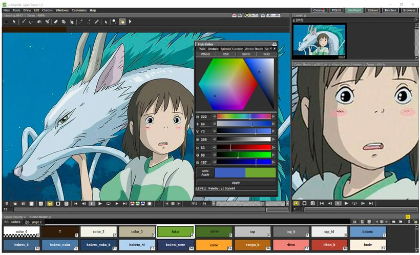 Professional 2d Animation Software Opentoonz Offers Free